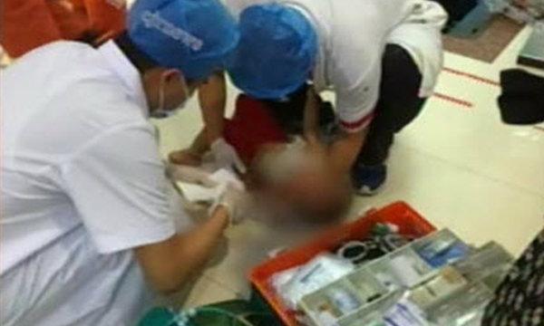 ซ้ำรอยอีก! บันไดเลื่อนห้างจีนหนีบเด็ก 1 ขวบเจ็บสาหัส