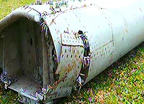 พบชิ้นส่วนเครื่องบินเกาะฝรั่งเศสคล้ายMH370