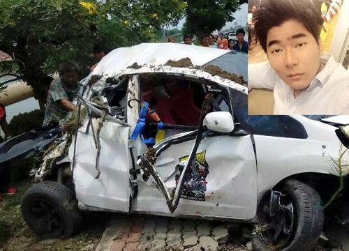 ลูกชายโหน่ง3ช่าขับรถพุ่งตกคลองปทุมเจ็บ