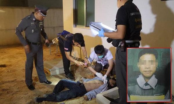 ฆ่าโหด รปภ.หมู่บ้านดัง ถูกตีหัวแล้วจับโยนลงมาจากชั้น 2