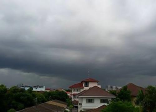 เช้านี้พบฝนแถวมีนบุรี-แนะเลี่ยงจราจรย่านหมอชิต