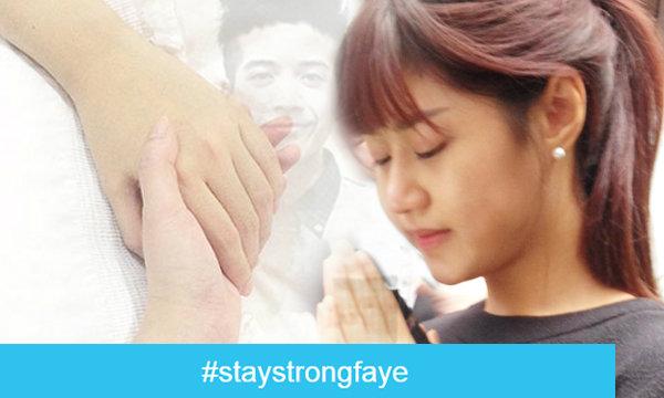 ชาวโซเชียลน้ำตาซึม ติดแท็ก #staystrongfaye เป็นกำลังใจให้ เฟย์