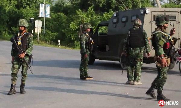 """ทหารเปิดฉากปะทะโจรใต้ วิสามัญมือสังหาร """"รองชุมแพ"""" ปี 56"""