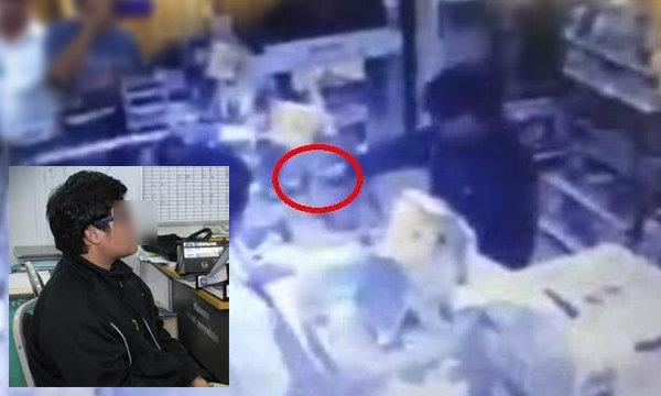 ตำรวจรวบหนุ่มควงปืนปลอมจี้เซเว่น อ้างทำประชดพ่อ