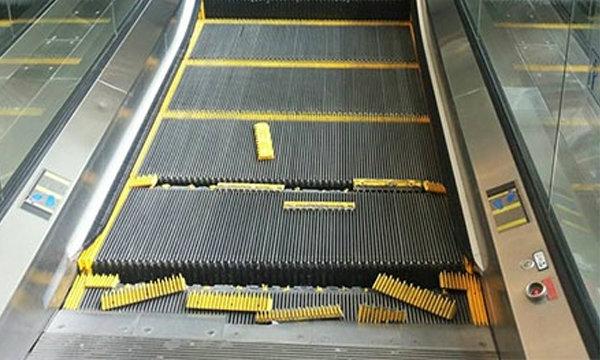 พังอีก! บันไดเลื่อนในห้างที่ฮ่องกง อยู่ๆก็แยกชิ้นส่วน