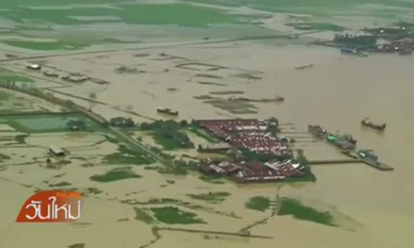 เมียนมาเร่งช่วยผู้ประสบภัยน้ำท่วม นานาชาติร่วมให้ความช่วยเหลือ