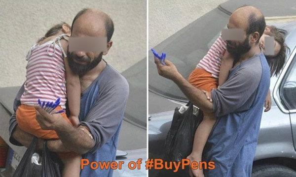 จากภาพถ่ายสะเทือนอารมณ์ สู่พลังโซเชียล ช่วยชีวิตสองพ่อลูกผู้ลี้ภัย