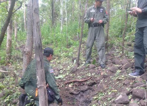 พบระเบิดสังหารท้ายหมู่บ้านอ.เกาะคาลำปาง