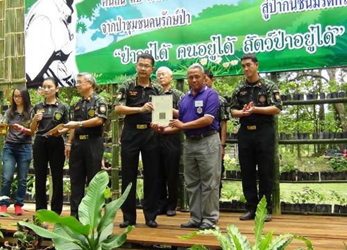 อธิบดีกรมป่าไม้เปิดงาน25ปีสืบนาคะเสถียร