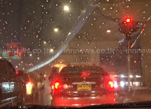 กทม.ฝนถล่มหนักสุดที่บางแค44มม.จตุจักร28มม.