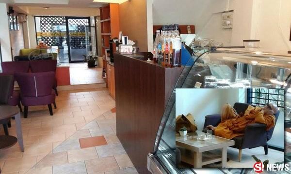 เจ้าของร้านกาแฟสุดทน หลวงตามานั่งหลับบ่ายยันค่ำ