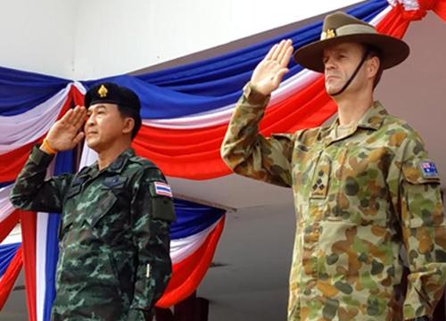 ทหารไทย-ออสเตรเลียร่วมฝึกซ้อมที่ชุมพร