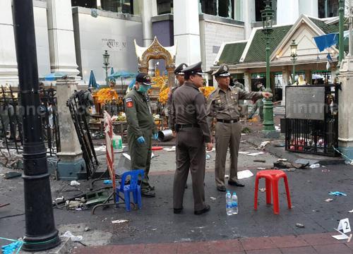 สถานการณ์ไทยหลังระเบิดกลางกรุงเริ่มกลับสู่ปกติ