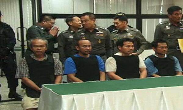 ศาลตัดสินจำคุกตลอดชีวิต 4 ชายยิงM79 ที่ราชดำริ