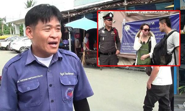 ตุ๊กตุ๊กฮีโร่สับขาวิ่งสกัดคนร้ายกระชากกระเป๋านักท่องเที่ยวจีน