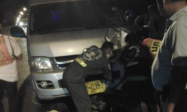 วิจารณ์หึ่ง รถตู้โรงแรมดังเขาหลัก พุ่งชนชาวมอร์แกน-ลากศพไปไกล