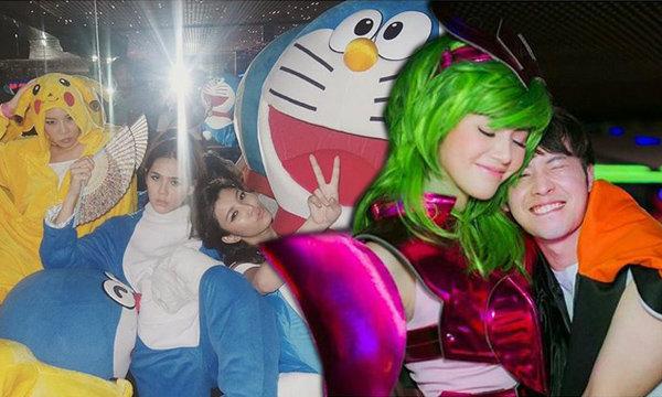แก๊งชมพู่ อารยา ทุ่มเทหนักมาก ปาร์ตี้วันเกิดเพื่อนธีมการ์ตูนญี่ปุ่น