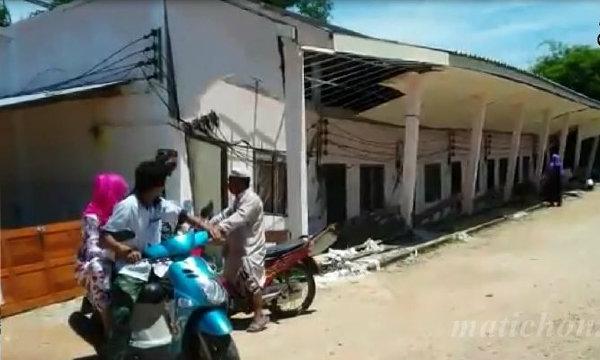 บ้านยุบ 7 หลังพังถล่ม วิ่งหนีตายนึกว่าแผ่นดินไหว ประกาศเป็นพื้นที่เสี่ยง
