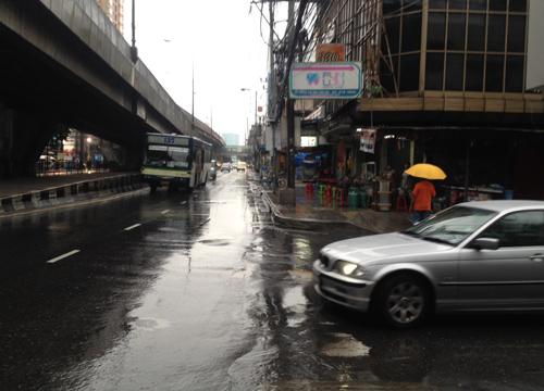 พบกลุ่มฝนหลายพื้นที่กทม.ดอนเมือง36มม.