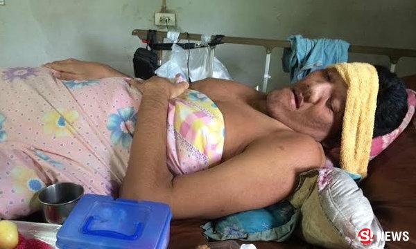น้ำใจคนไทยแห่ช่วย หนุ่มสุรินทร์สูง 269 ซม. ล่าสุดยังอาการทรุดลง