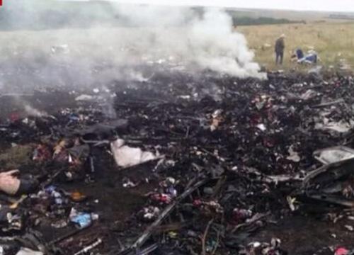 ยูเครนพบหลักฐานมัดรัสเซียสอยMH17