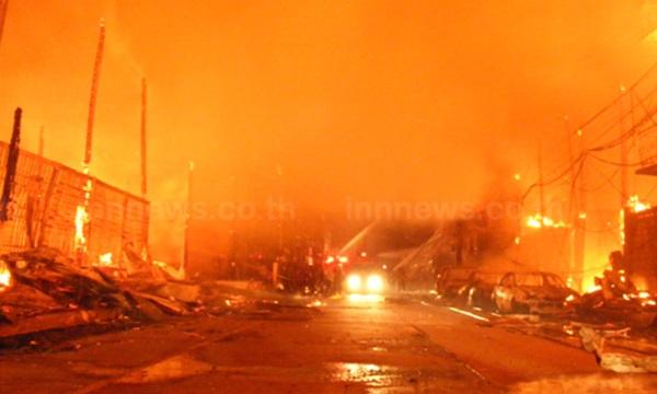 ไฟไหม้โรงงานเนสเล่คอฟฟี่เมต นิคมอุตฯ สมุทรสาคร