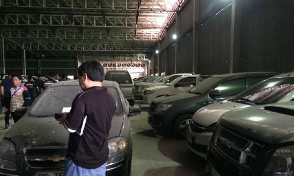 ตะลึง!! ดาดฟ้าห้างดังจอดรถจำนำ 204 คัน คุม′ลูก-หลาน′เสี่ยเต้นท์แจ้งข้อหา