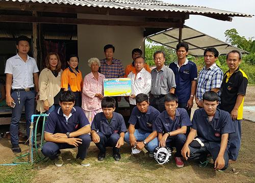 เทคนิคเพชรบุรีทำกิจกรรมเพื่อสังคม