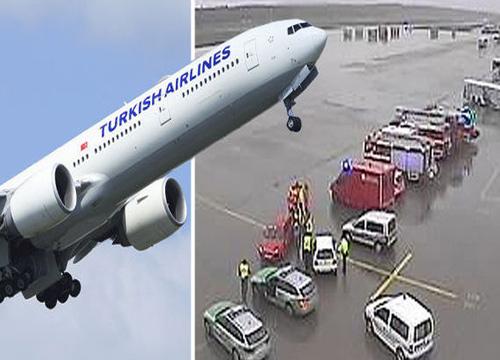 บินตุรกีมุ่งหน้าเยอรมันเปลี่ยนเส้นทางฉุกเฉิน