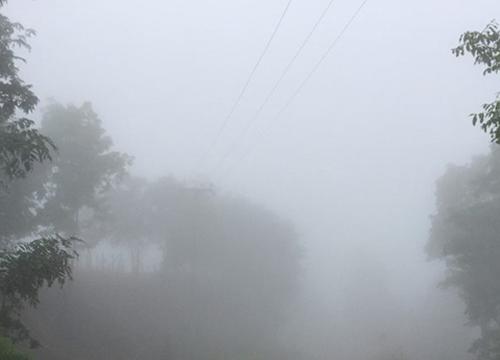 อุตุฯพยากรณ์เที่ยงเหนือหมอกมากอุณหภูมิลด