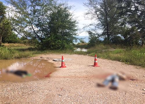 พบศพ2ชายถูกยิงบนถนน อ.เทพา จ.สงขลา