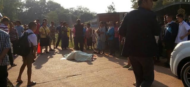 นักเรียนป.4ปราจีนบุรีตกรถบัสถูกทับดับ