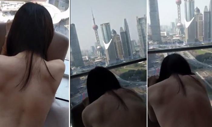 แชร์ว่อนเน็ตจีน! เซ็กส์เทปสาวสวยบนโรงแรมหรู