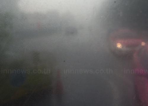 กทม.ฝนตกปริมาณมากสุดเขตบางกะปิ