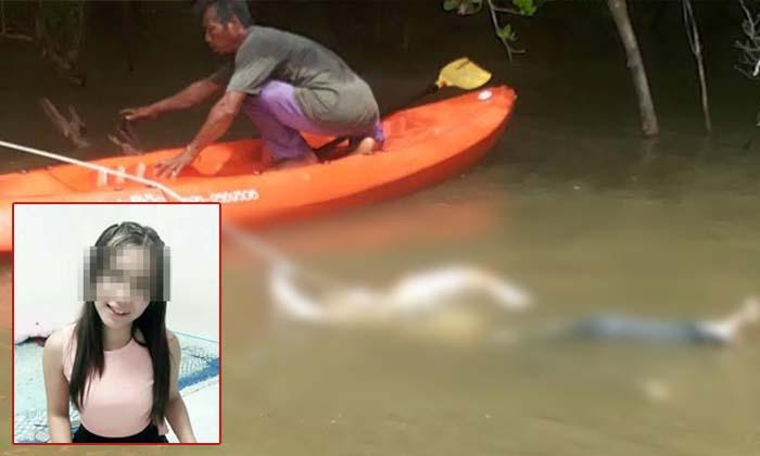สาวเพิ่งวิวาห์ 3 เดือน หายไปพร้อมแฟนเก่า พบเป็นศพลอยคลอง