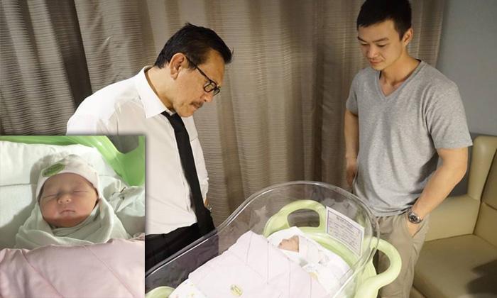 """""""ชูวิทย์"""" ชีวิตแฮปปี้เป็นคุณปู่แล้ว ลูกชายคนโตมีหลานให้"""