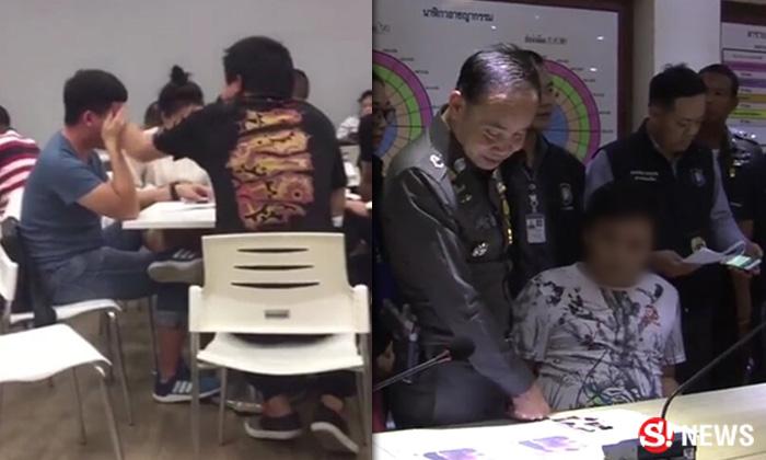 ตำรวจรวบ 2 หัวหน้าทัวร์จีน อาละวาดตบหน้าเพื่อนกลางร้าน