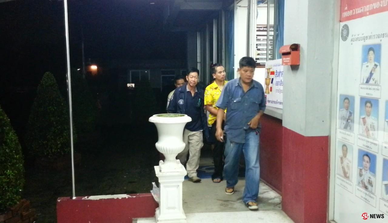 นนทบุรี ตำรวจรวบตัวโจรพ่อลูกอ่อนอุ้มลูก 3 ขวบก่อเหตุลักรถยนต์ย่านบางบัวทองแล้ว