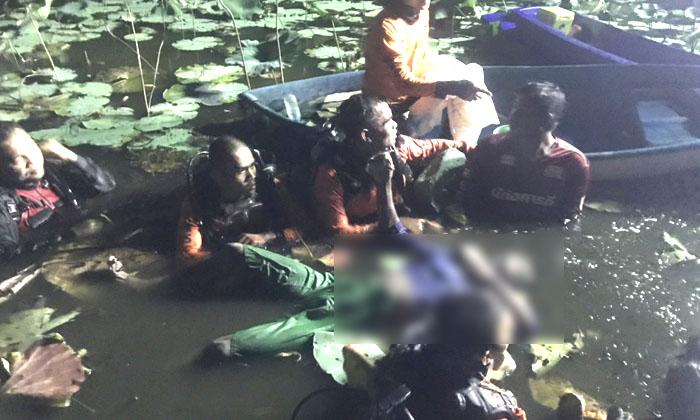 หนุ่มใหญ่จมน้ำดับปริศนา-หลังว่ายหนีตายตำรวจกระทั่งจมลงบ่อทราย