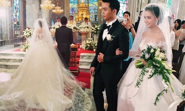 งานแต่งกระแต หลุยส์ พิธีการในโบสถ์แบบคริสต์