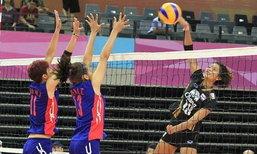 ทีมตบไทย พ่าย ไต้หวัน 3-2 เซต ศึกเอวีซี