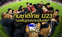 """สกู๊ป : ทีมชาติไทย U23 """"บนพื้นฐานแห่งความเป็นจริง"""" โดย """"บ.ส้มซิ่ง"""""""