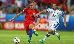 """""""สิงโต"""" เจาะไม่เข้าเจ๊า """"สโลวาเกีย"""" 0-0 คว้ารองแชมป์กลุ่ม"""