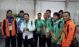 กำปั้นไทยประเดิมเข้าหมู่บ้านนักกีฬาโอลิมปิก 2016 ชุดแรก