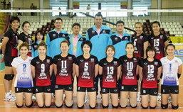 ลูกยางสาวไทยพ่ายยุ่นเปิดศึกวอลเลย์บอลฯ