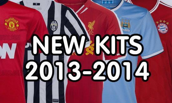 อัพเดต เสื้อแข่งทีมฟุตบอลซีซั่นใหม่ 2013-2014