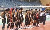 ตบหนุ่มไทยจอดป้ายรอบ 8 ทีมแพ้ยุ่น 3 เซ็ตลูกยางเอเชีย