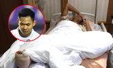 บุรีรัมย์, ทีมชาติไทยU-21, ปวดตับ! สิทธิโชค กระดูกหลังเท้าหัก พักยาวครึ่งปี