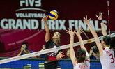 วอลเลย์บอลสาวไทยตบคว่ำจีน3-1ศึกเวิลด์ กรังด์ปรีซ์