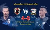 """คอมเม้นท์แฟนบอลอาเซียนและเอเชีย หลัง """"ญี่ปุ่น"""" ถล่ม """"ไทย"""" 4-0"""